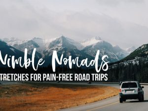 Nimble Nomads: Stretches for Pain-Free Road Trips