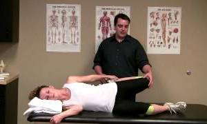 Side Lying Quadriceps Stretch