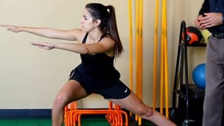 Side Lunge with Glute Stretch