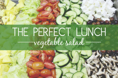 The Perfect Lunch Salad Blog