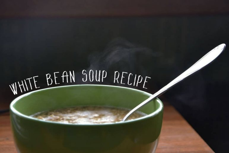 Quick & Healthy White Bean Soup