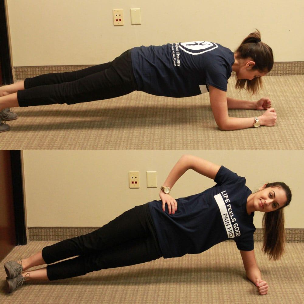 Pregnancy Planks