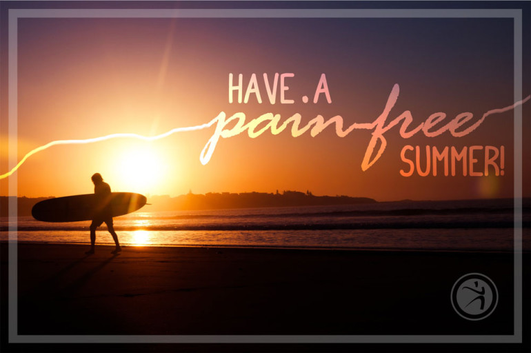have a pain free summer coury buehler physical therapy