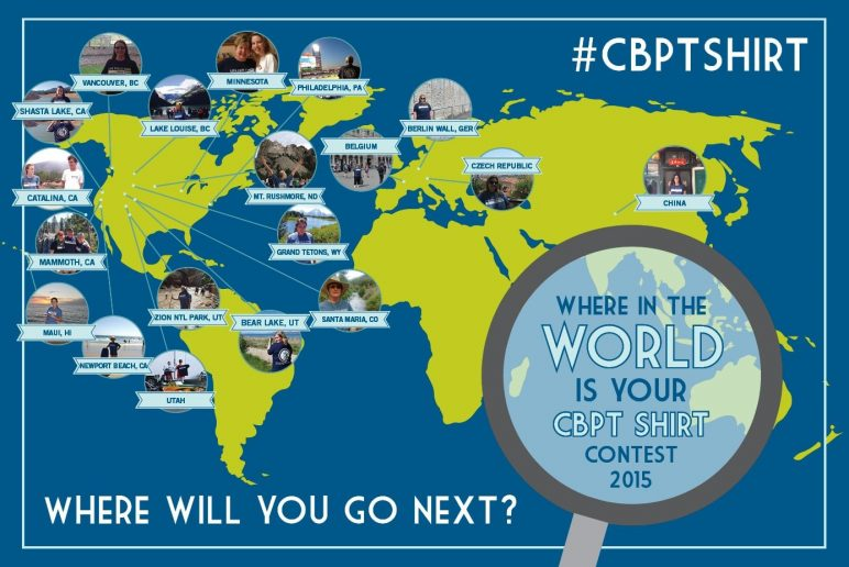 Where in the World is Your CBPT Shirt Contest 2015