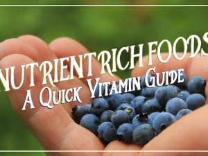 Nutrient Rich Foods: A Quick Vitamin Guide