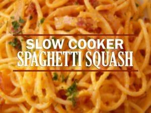 Slow Cooker Spaghetti Squash