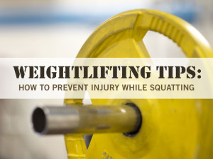 Weightlifting Tips: How to Prevent Injury While Squatting