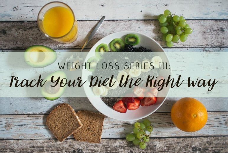 Weight Loss Series III: Track Your Diet the Right Way