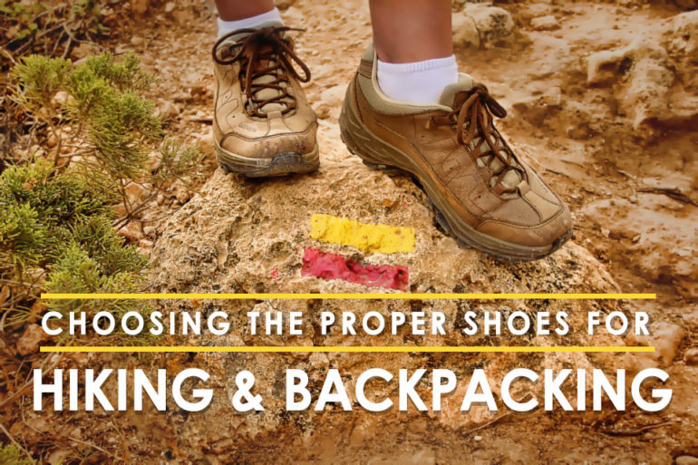 a7eb0ec2505 Choosing the Proper Shoes for Hiking and Backpacking - Coury ...