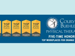 TOP WORKPLACES AWARD 2017 FOR COURY & BUEHLER PHYSICAL THERAPY