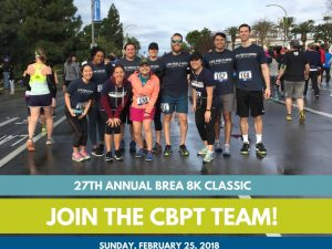 Join the CBPT Brea 8K 2018 Team!