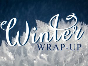 Winter Wrap-Up: CBPT's Winter Favorites