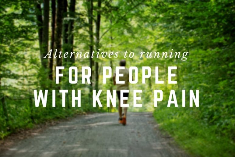 Alternatives to running for people with knee pain