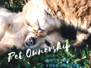Pet ownership: Do it for your health!