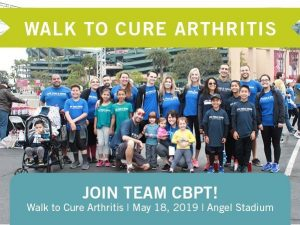 Walk to Cure Arthritis 2019 – Join Team CBPT!