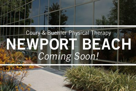 Coury & Buehler Physical Therapy Newport Beach