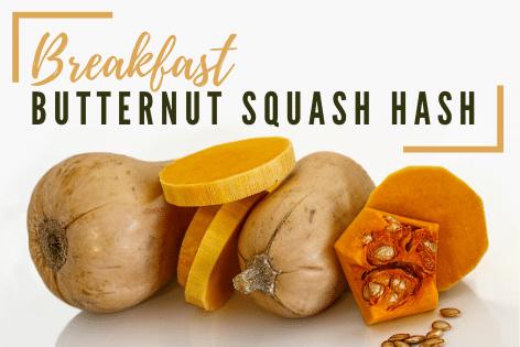 Healthy Eats: Breakfast Butternut Squash Hash