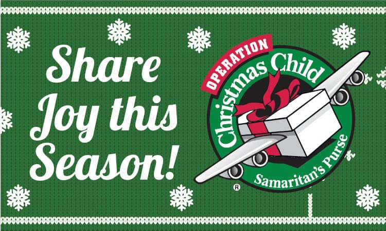 Operation Christmas Child 2020: JOIN US!